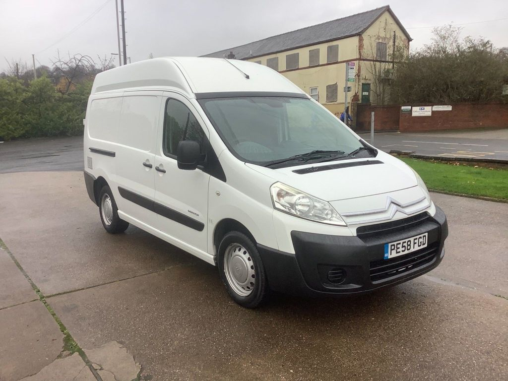 Citroen Dispatch Panel Van 2.0 HDi 1200 L2H2 High Roof Van 5dr
