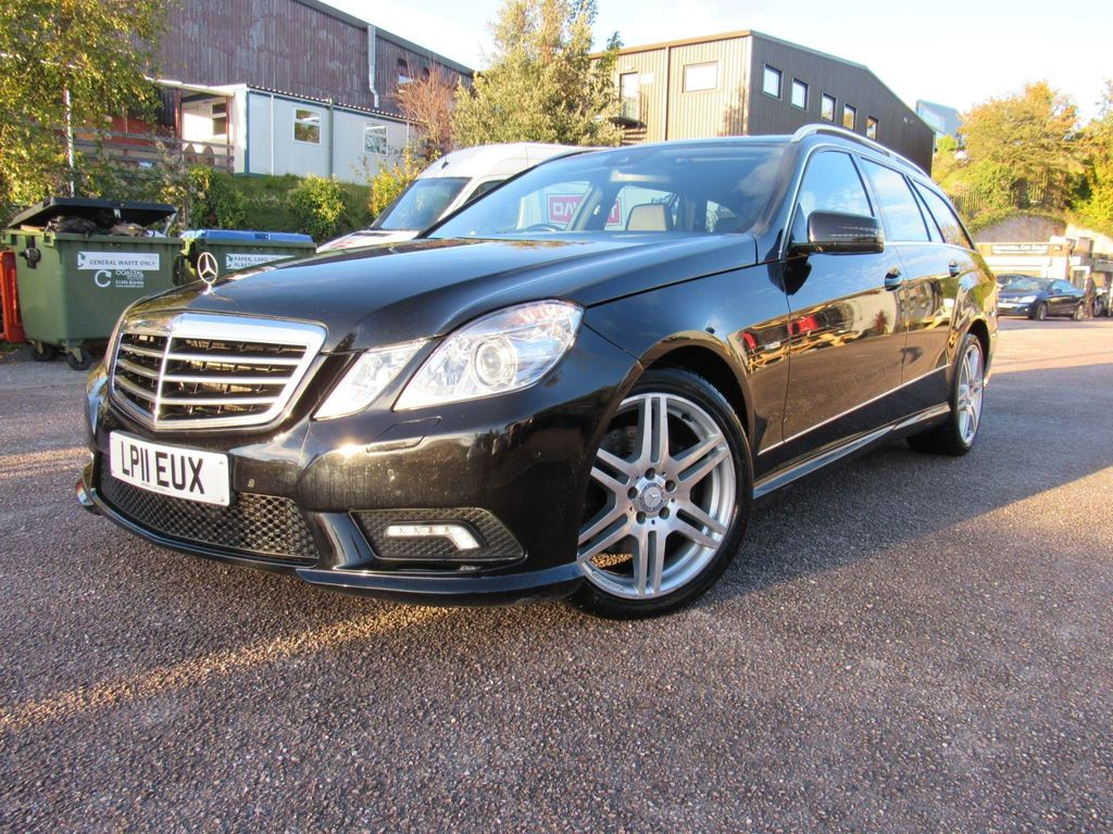 Mercedes-Benz E Class Estate 3.0 E350 CDI BlueEFFICIENCY Sport Auto 5dr
