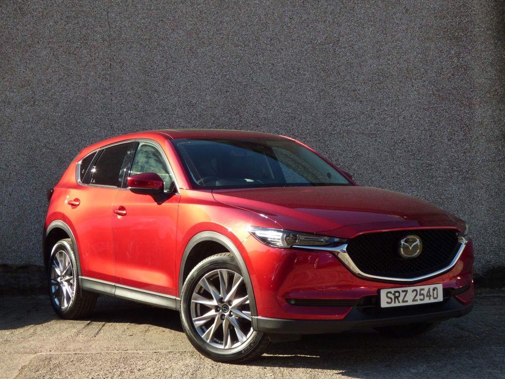 Mazda CX-5 SUV 2.0 SKYACTIV-G Sport Nav+ Auto (s/s) 5dr