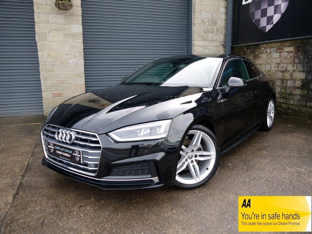 Audi A5 Coupe 2.0 TFSI S line S Tronic (s/s) 2dr