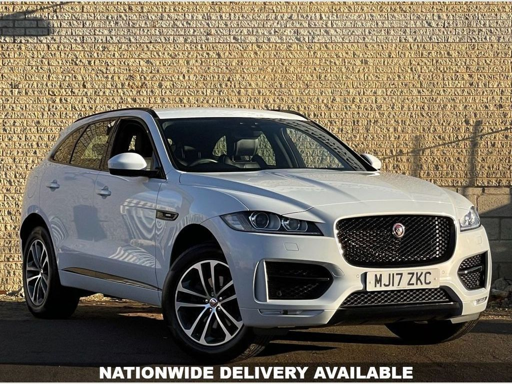 Used Jaguar F Pace Suv 2 0d R Sport Black Edition Auto Awd S S 5dr In Halifax West Yorkshire Easy Car Credit Ltd