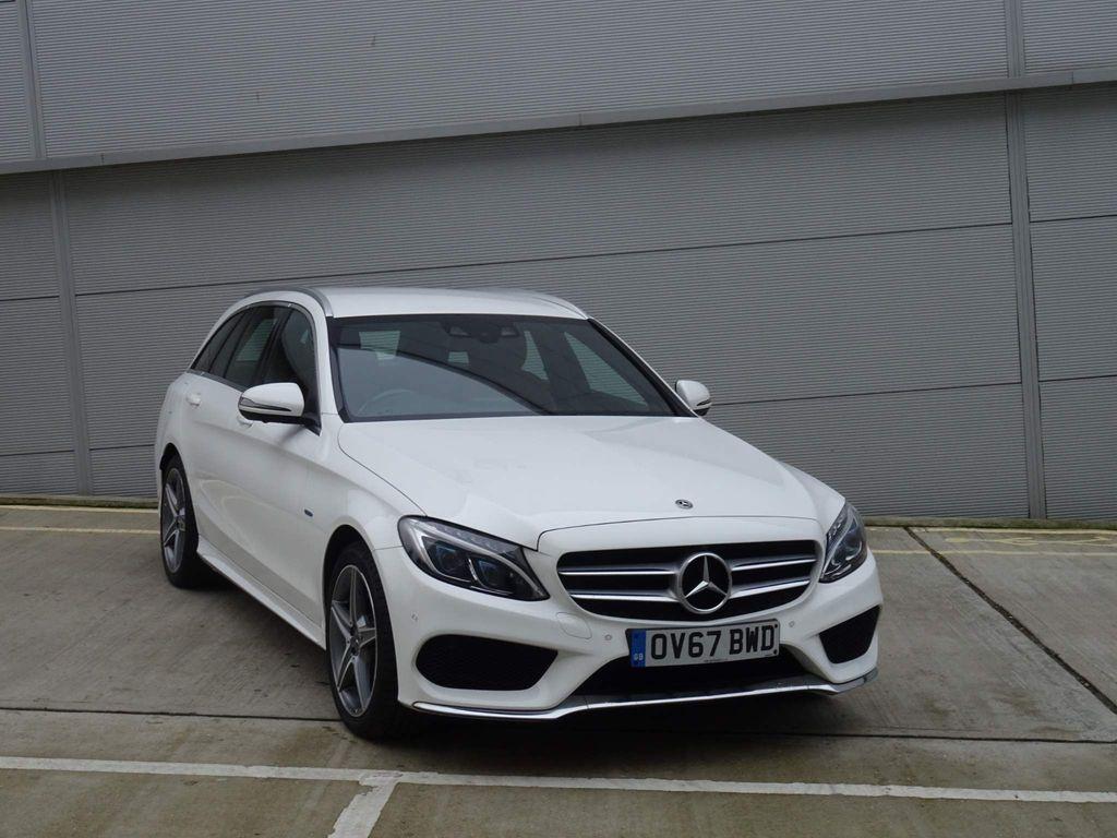 Mercedes-Benz C Class Estate 2.0 C350e 6.4kWh AMG Line G-Tronic+ (s/s) 5dr