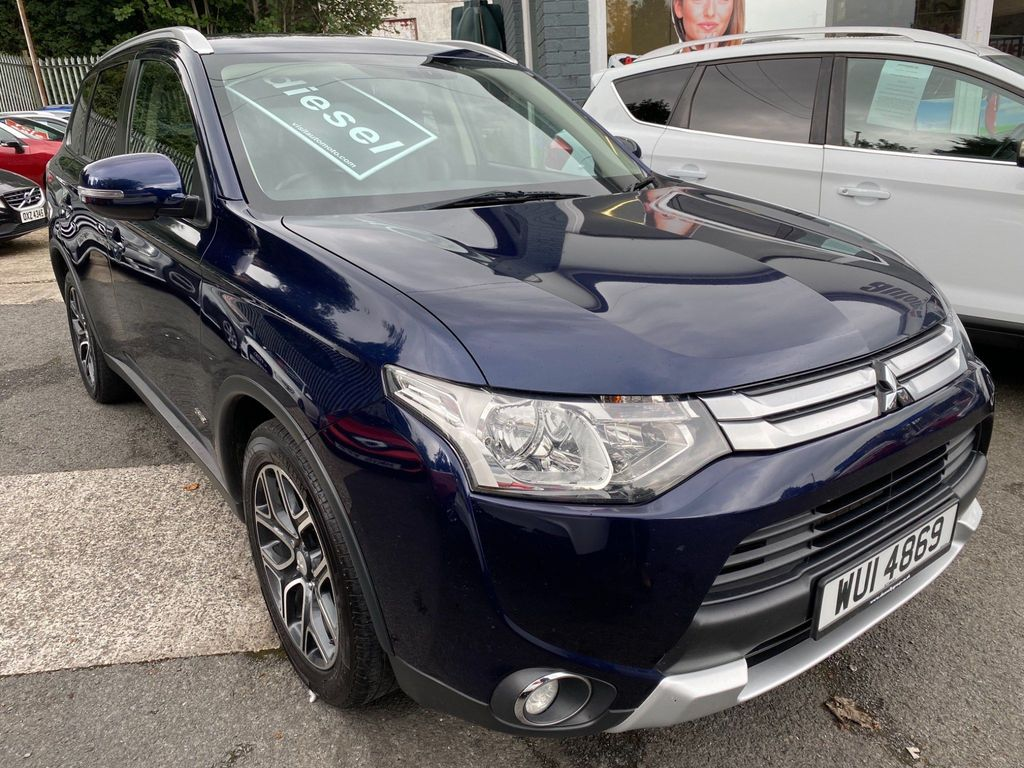Mitsubishi Outlander SUV 2.2 DI-D GX3 4x4 5dr (7 seats)
