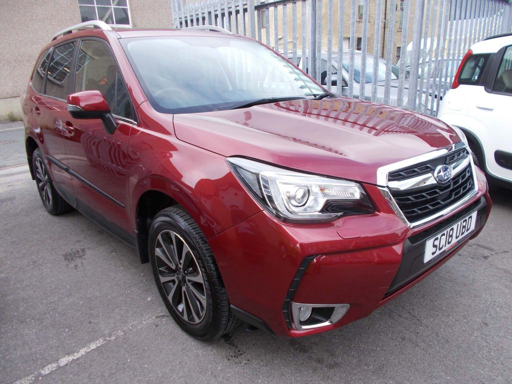 Subaru Forester SUV 2.0i XT Lineartronic 4WD 5dr