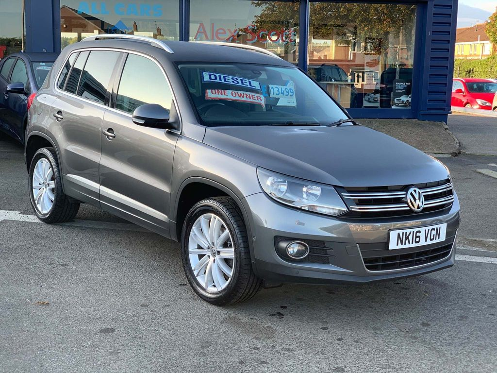 VOLKSWAGEN TIGUAN SUV 2.0 TDI BlueMotion Tech Match Edition DSG 4MOTION (s/s) 5dr