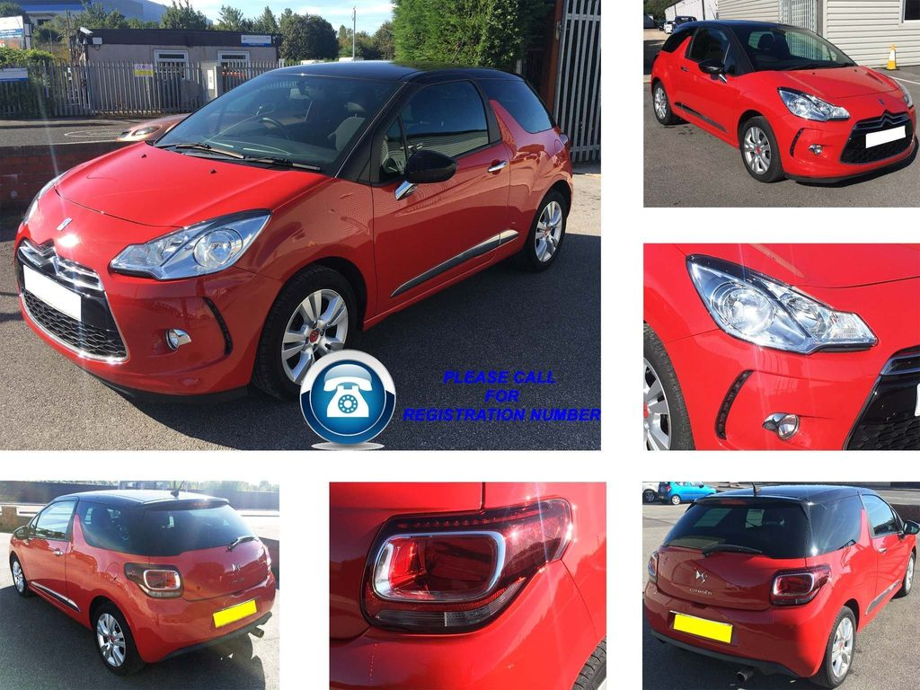 Citroen DS3 Hatchback 1.2 VTi DSign 3dr
