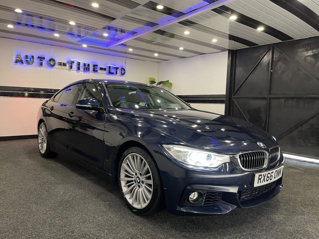 BMW 4 Series Gran Coupe Hatchback 2.0 430i Luxury Gran Coupe Auto (s/s) 5dr