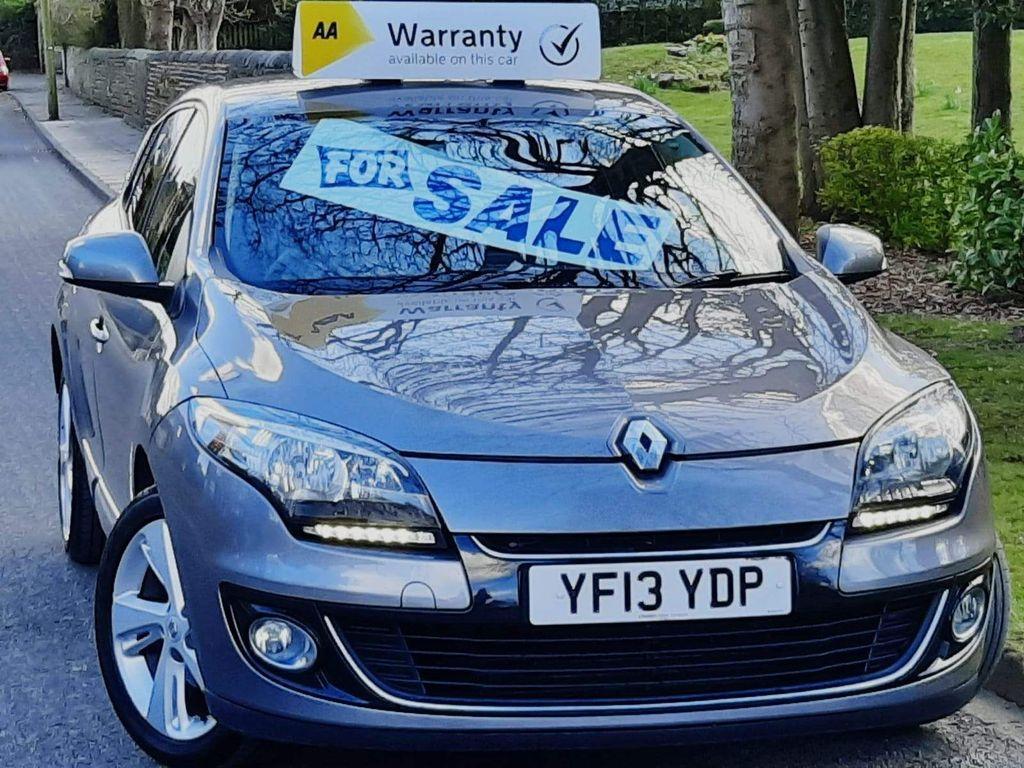 Renault Megane Hatchback 1.5 dCi Dynamique TomTom (s/s) 5dr