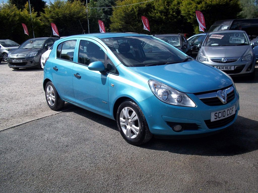 Vauxhall Corsa Hatchback 1.0 i ecoFLEX 12v Energy 5dr (a/c)