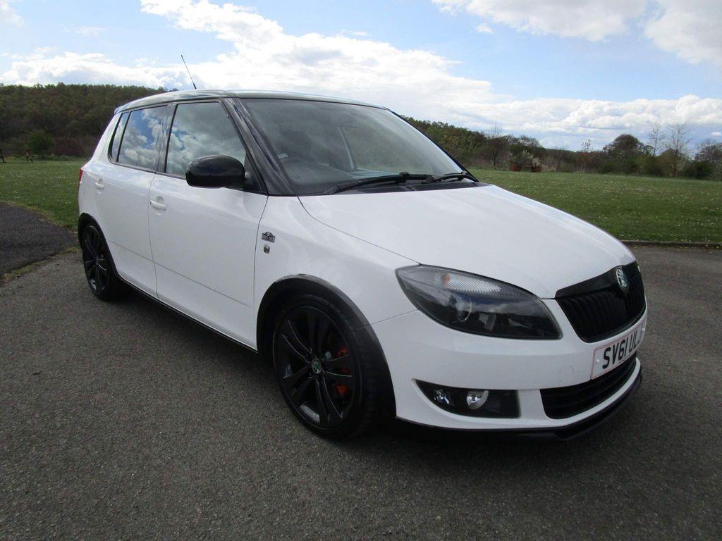 SKODA Fabia Hatchback 1.6 TDI CR Monte Carlo 5dr