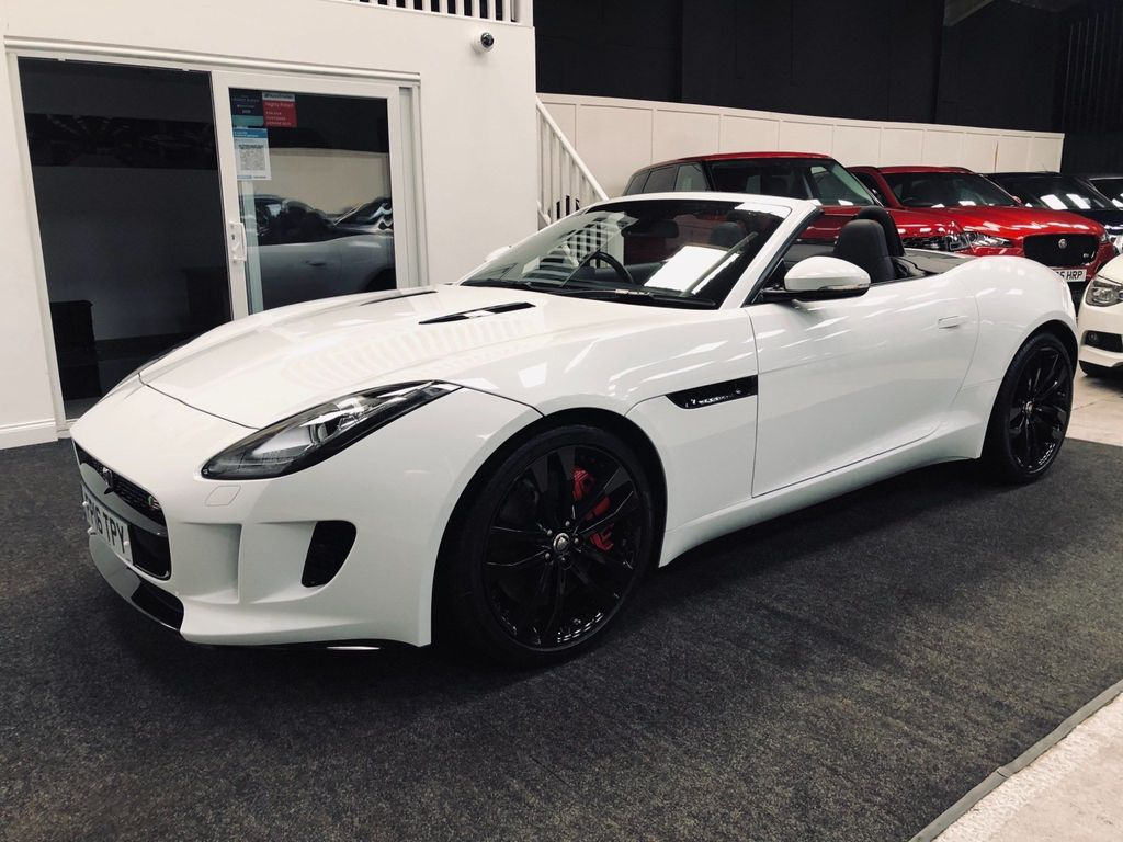 Jaguar F-Type Convertible 3.0 V6 Supercharged S 2dr