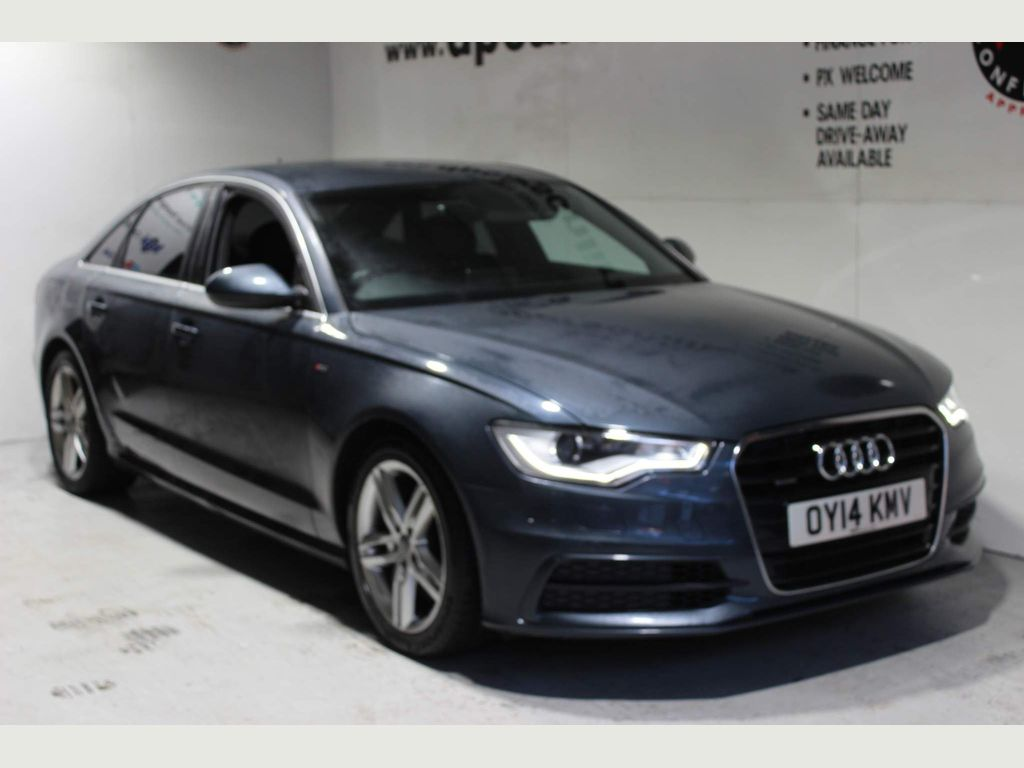 Audi A6 Saloon Saloon 3.0 TDI S line S Tronic quattro 4dr