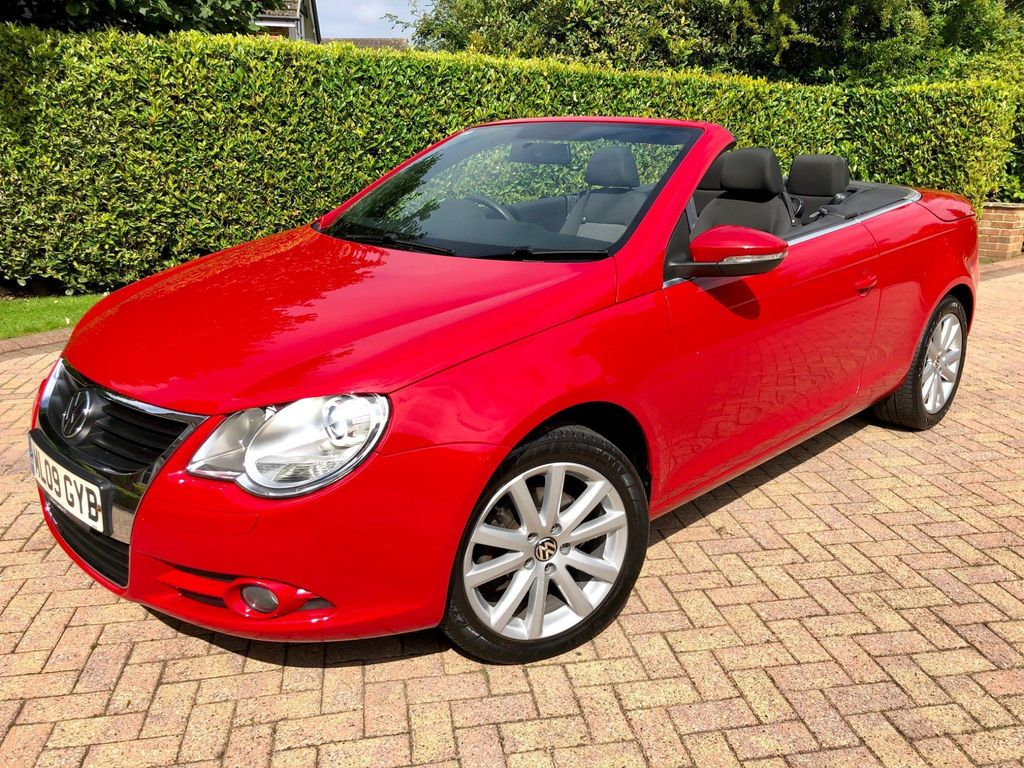 Volkswagen Eos Convertible 1.4 TSI S Cabriolet 2dr