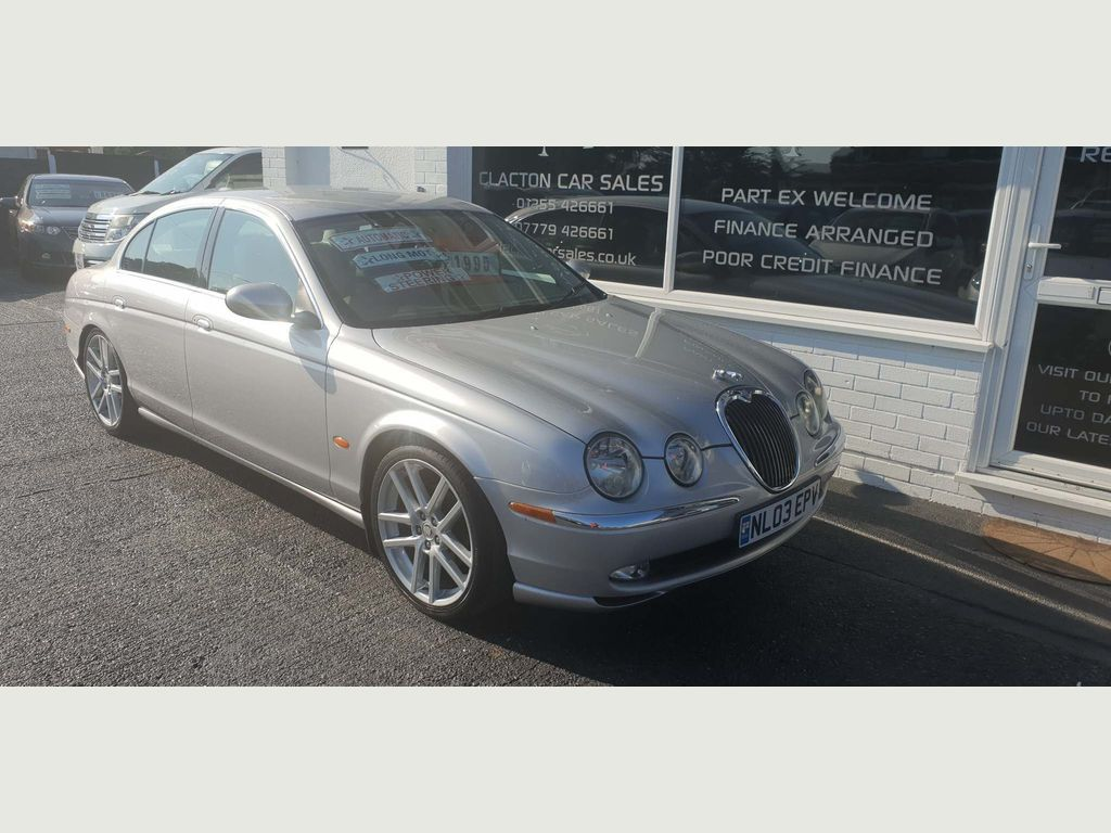 JAGUAR S-TYPE Saloon 2.5 V6 4dr