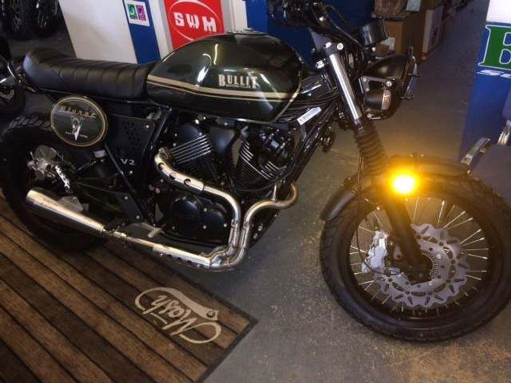Bullit Motorcycles Bluroc Unlisted