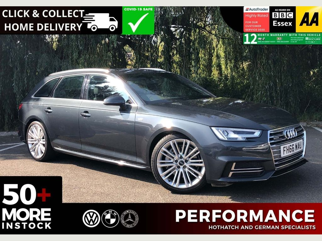 Audi A4 Avant Estate 3.0 TDI V6 S line Avant Tiptronic quattro (s/s) 5dr