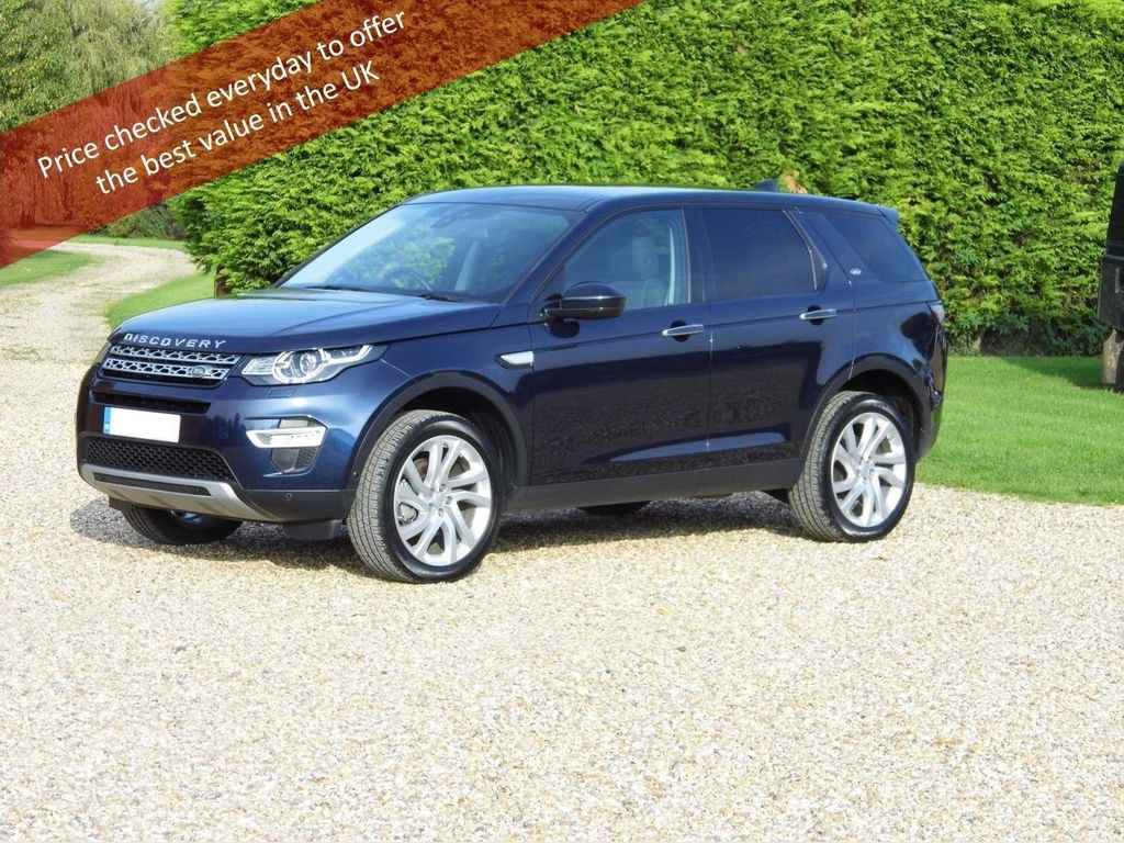 Land Rover Discovery Sport SUV 2.0 TD4 HSE Luxury 4WD (s/s) 5dr 7 Seat