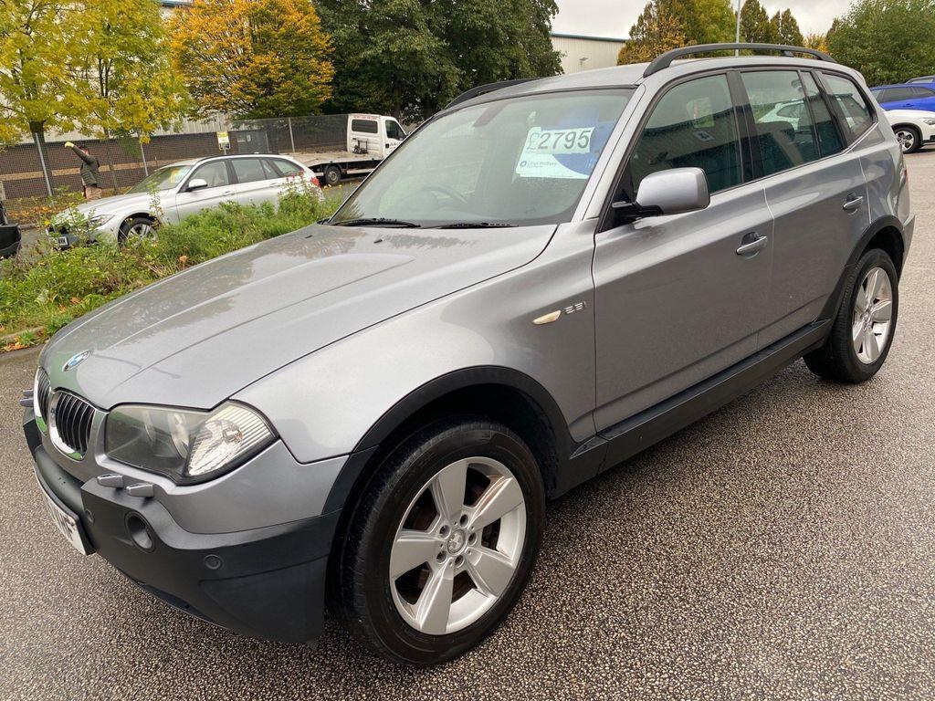 BMW X3 SUV 2.5i Sport 4WD 5dr