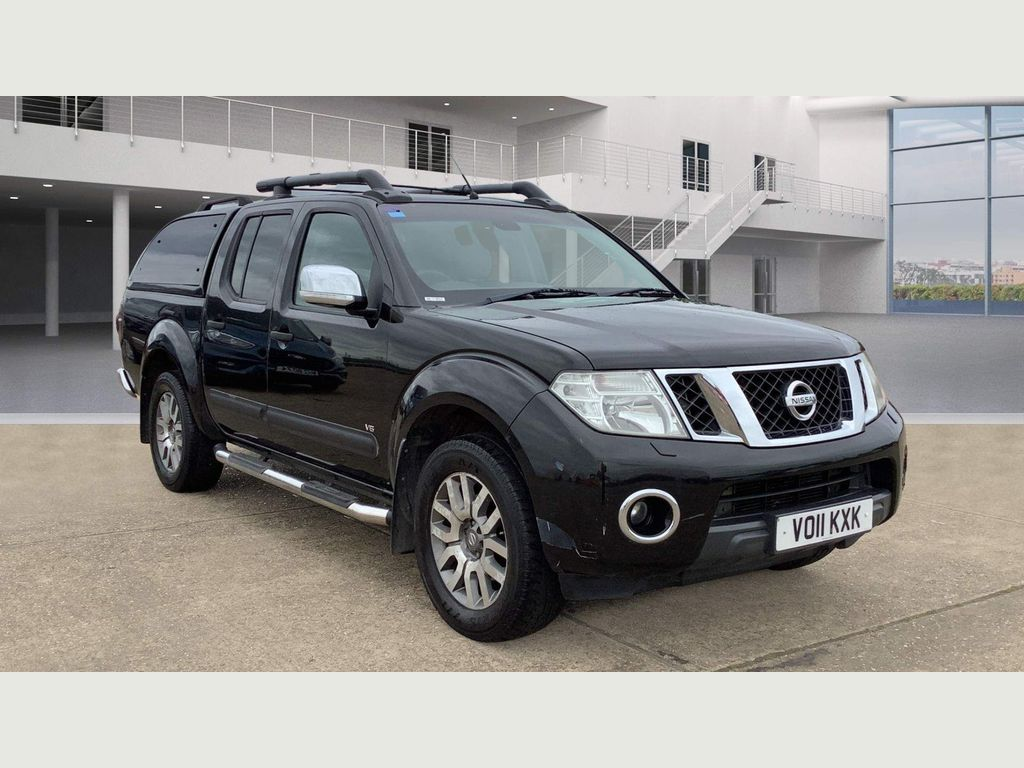 Nissan Navara Pickup 3.0 dCi V6 Outlaw Double Cab Pickup Auto 4WD 4dr