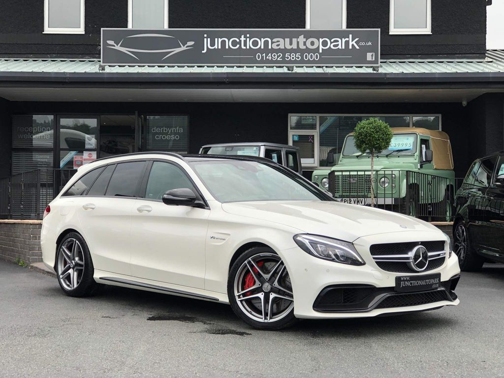 Mercedes-Benz C Class Estate 4.0 C63 V8 BiTurbo AMG S (Premium) SpdS MCT (s/s) 5dr