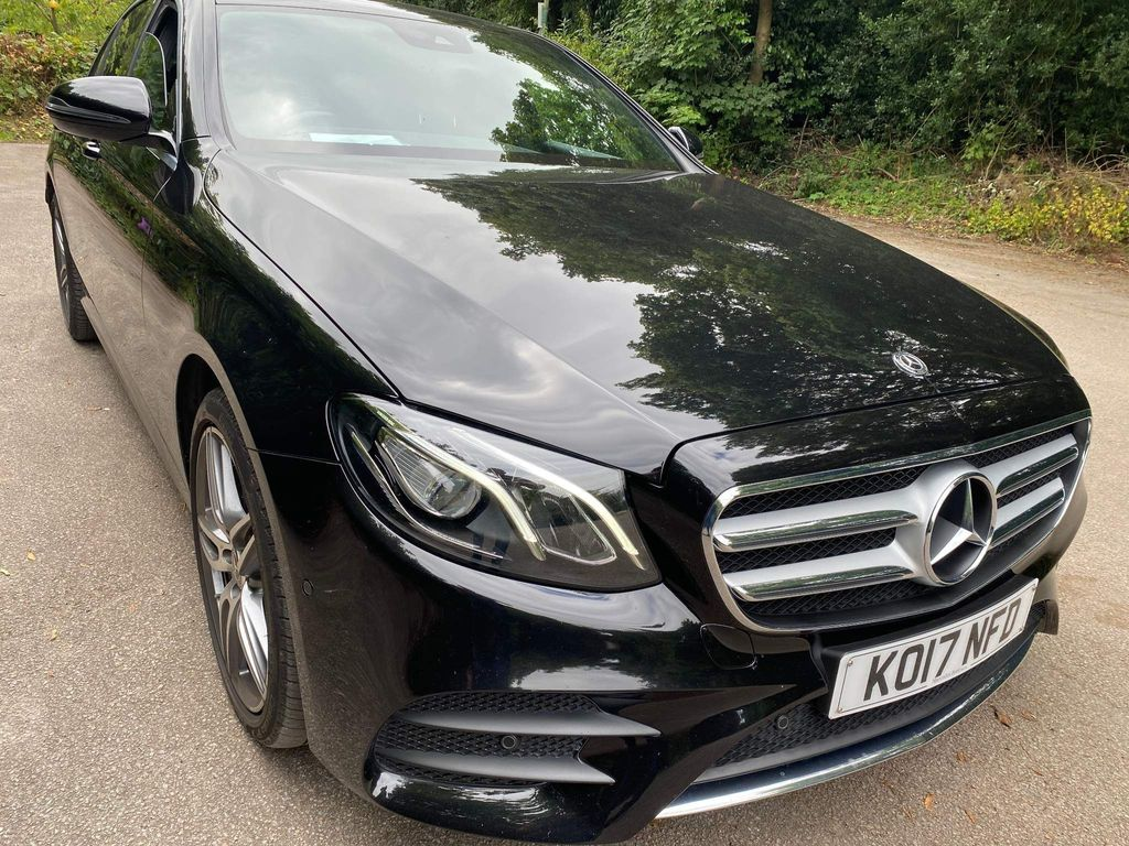 Mercedes-Benz E Class Saloon 3.0 E350d V6 AMG Line G-Tronic+ (s/s) 4dr