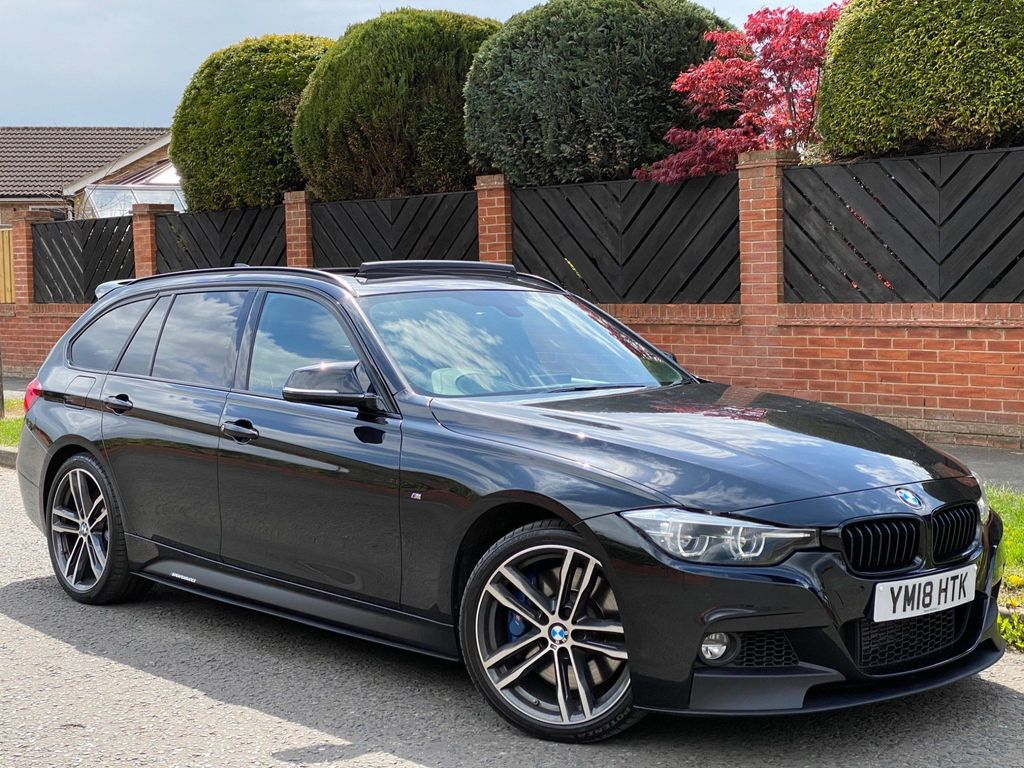 BMW 3 Series Estate 3.0 335d M Sport Shadow Edition Touring Auto xDrive (s/s) 5dr