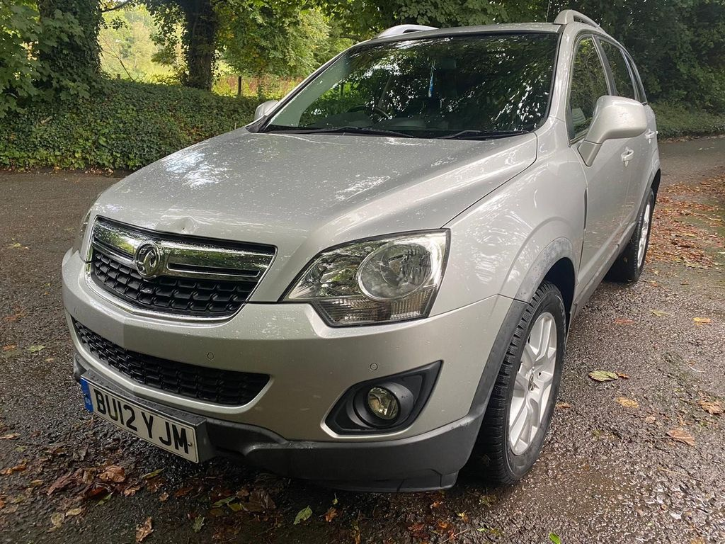 Vauxhall Antara SUV 2.2 CDTi Exclusiv 4WD 5dr
