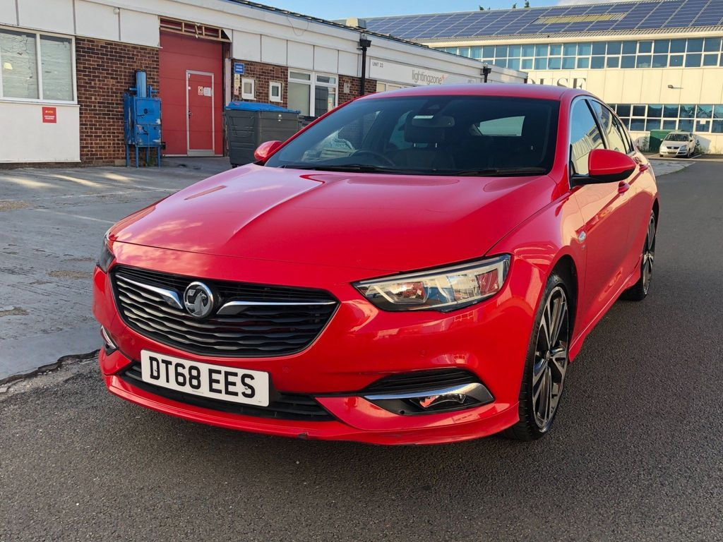 Vauxhall Insignia Hatchback 2.0 Turbo D BlueInjection SRi VX Line Nav Grand Sport (s/s) 5dr