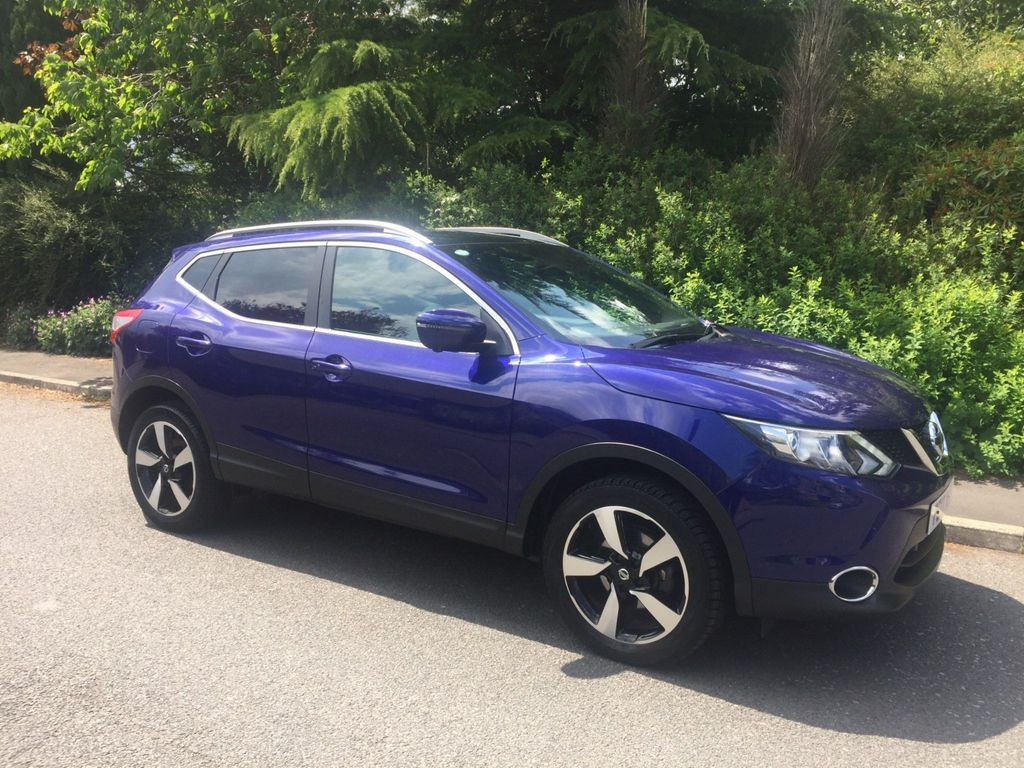 Nissan Qashqai SUV 1.6 dCi N-Vision 5dr (18in Alloys)