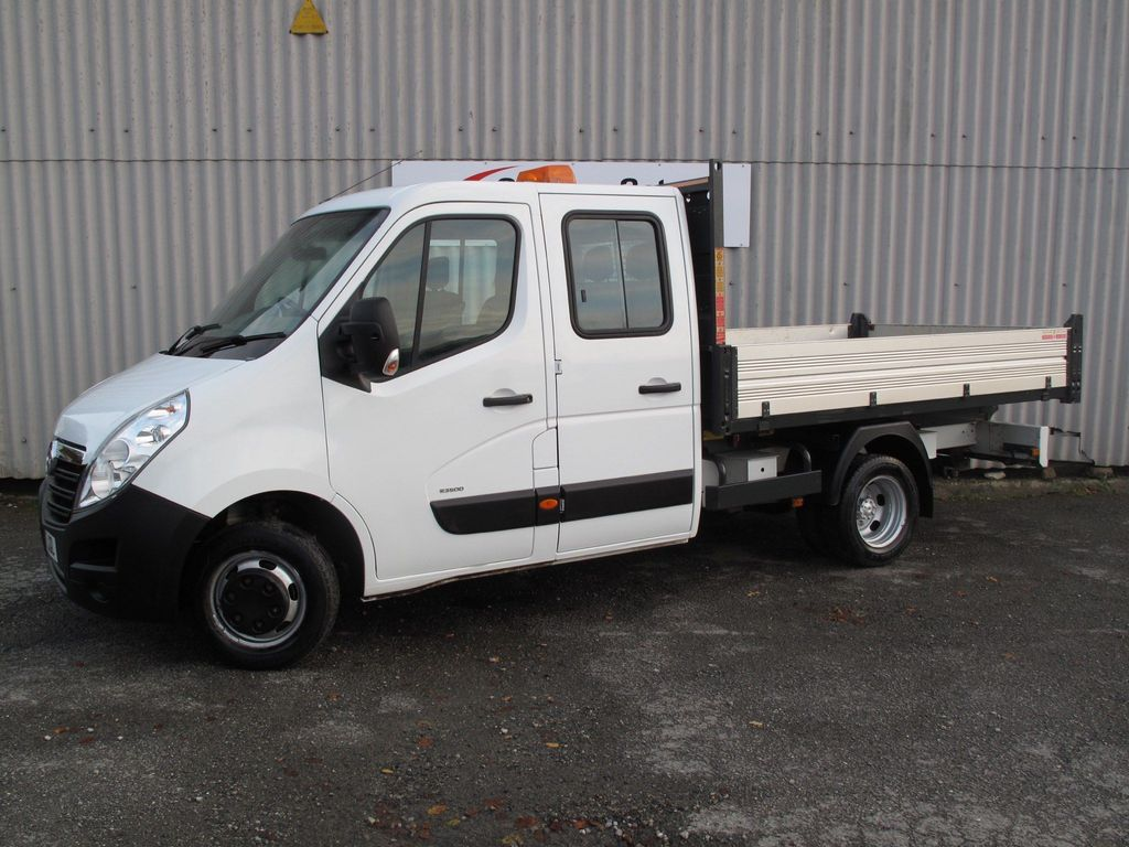Vauxhall Movano Chassis Cab 2.3 CDTi 3500 HDT Double Cab Chassis Cab RWD L3 H1 EU5 4dr (DRW)