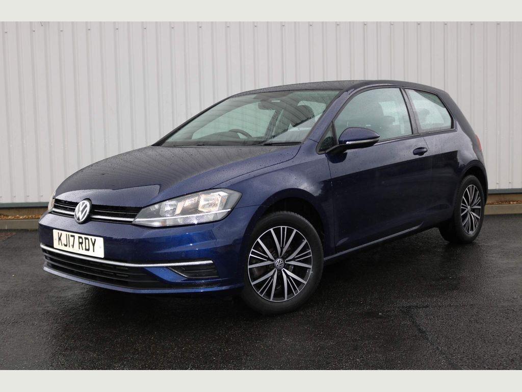 Volkswagen Golf Hatchback 1.0 TSI BlueMotion Tech SE Nav (s/s) 3dr