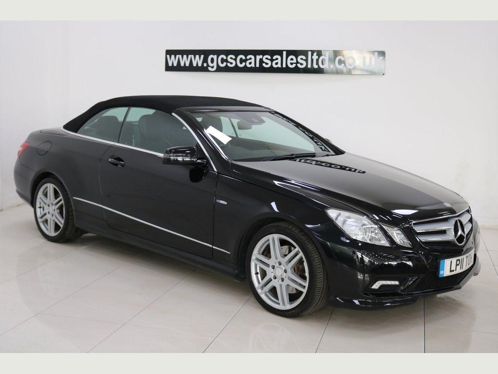 Mercedes-Benz E Class Convertible 2.1 E250 CDI BlueEFFICIENCY Sport Cabriolet 2dr