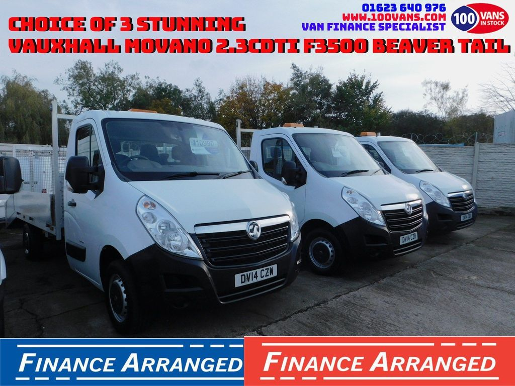 Vauxhall Movano Dropside TWO REMAINING
