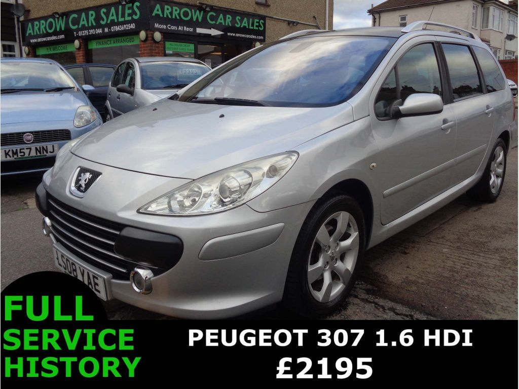Peugeot 307 SW Estate 1.6 HDi SE 5dr