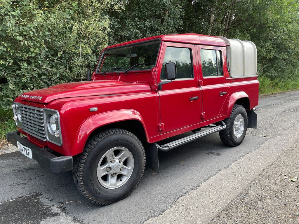Land Rover Defender 110 Pickup 2.2 TDCi County Double Cab Pickup 4WD MWB 4dr