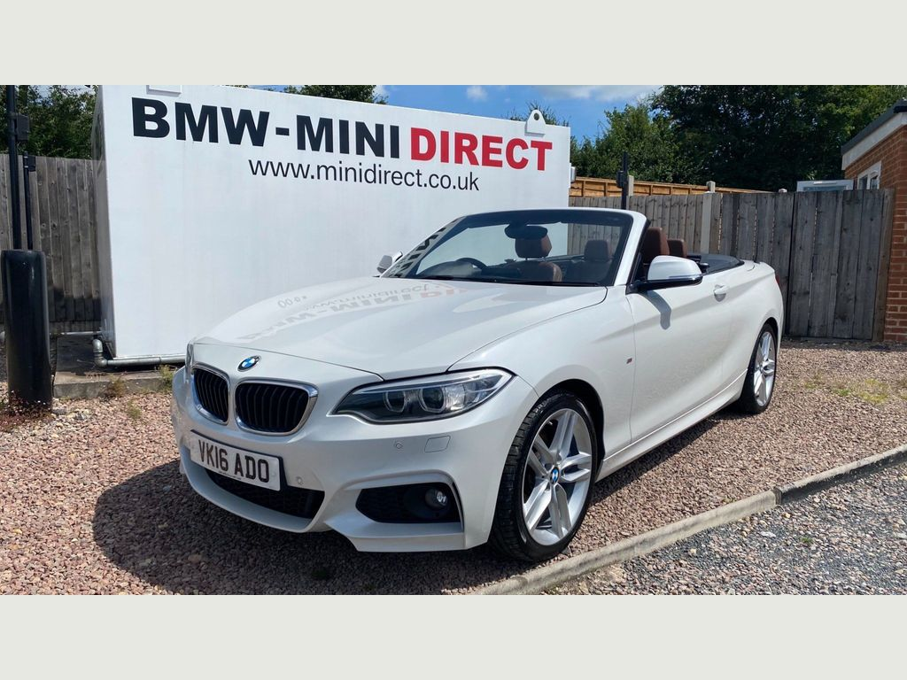 BMW 2 Series Convertible 2.0 228i M Sport Auto (s/s) 2dr