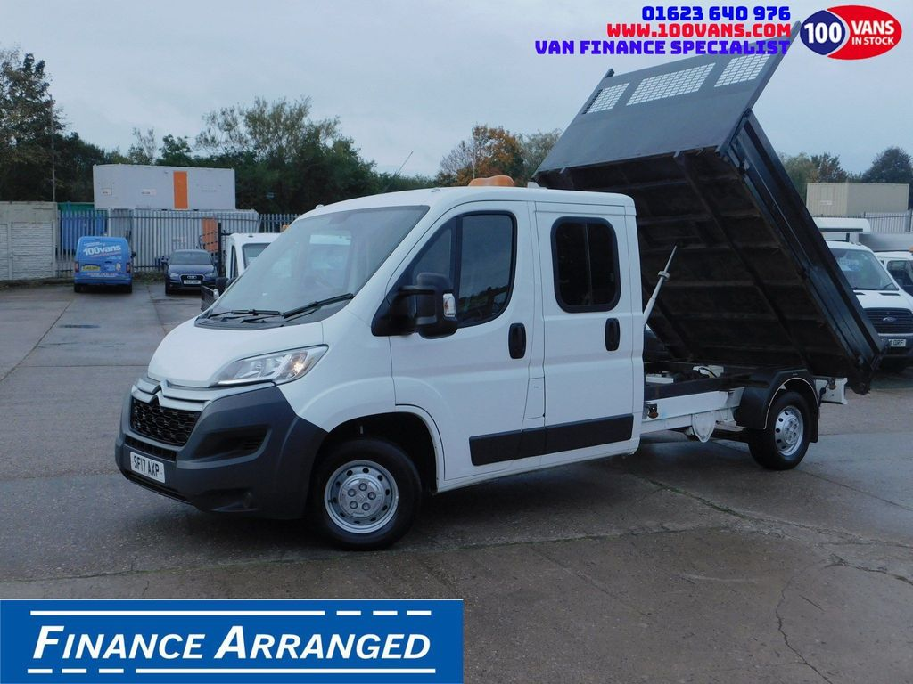 Citroen Relay Tipper SOLD SOLD SOLD