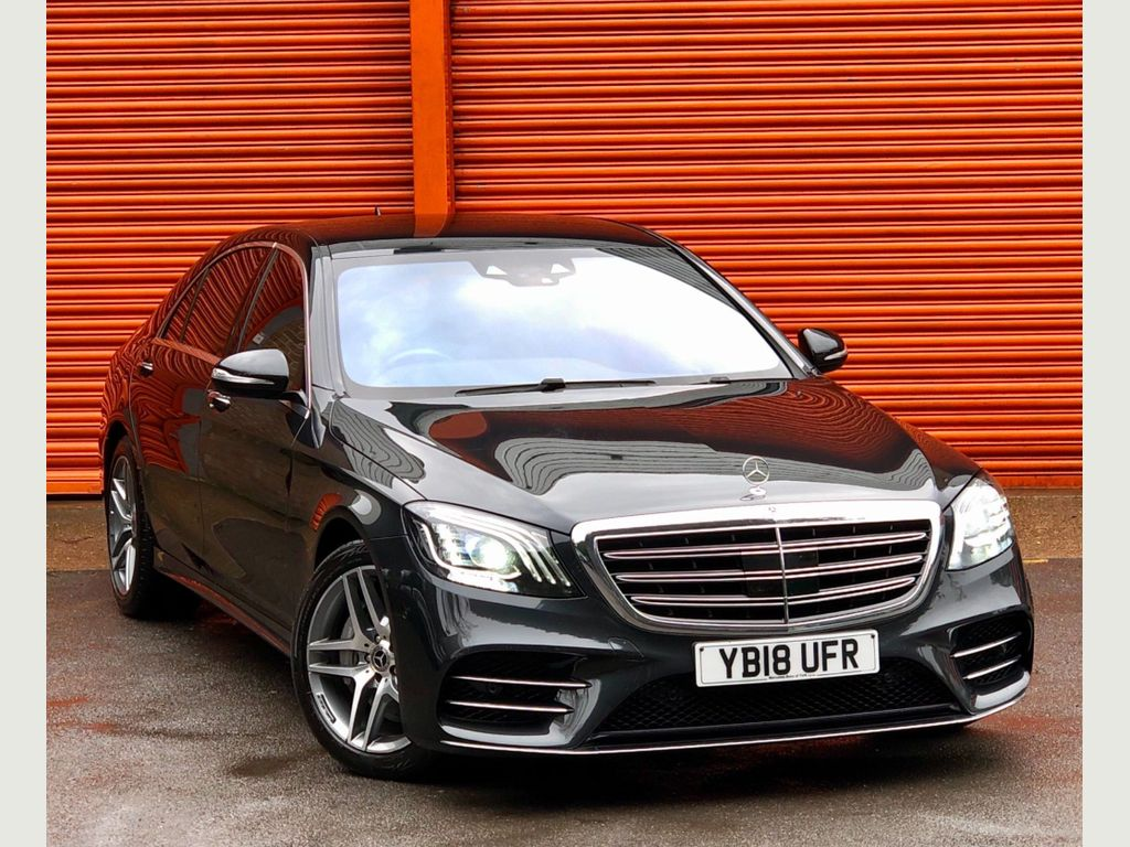 Mercedes-Benz S Class Saloon 3.0 S500L MHEV AMG Line (Executive) G-Tronic+ (s/s) 4dr