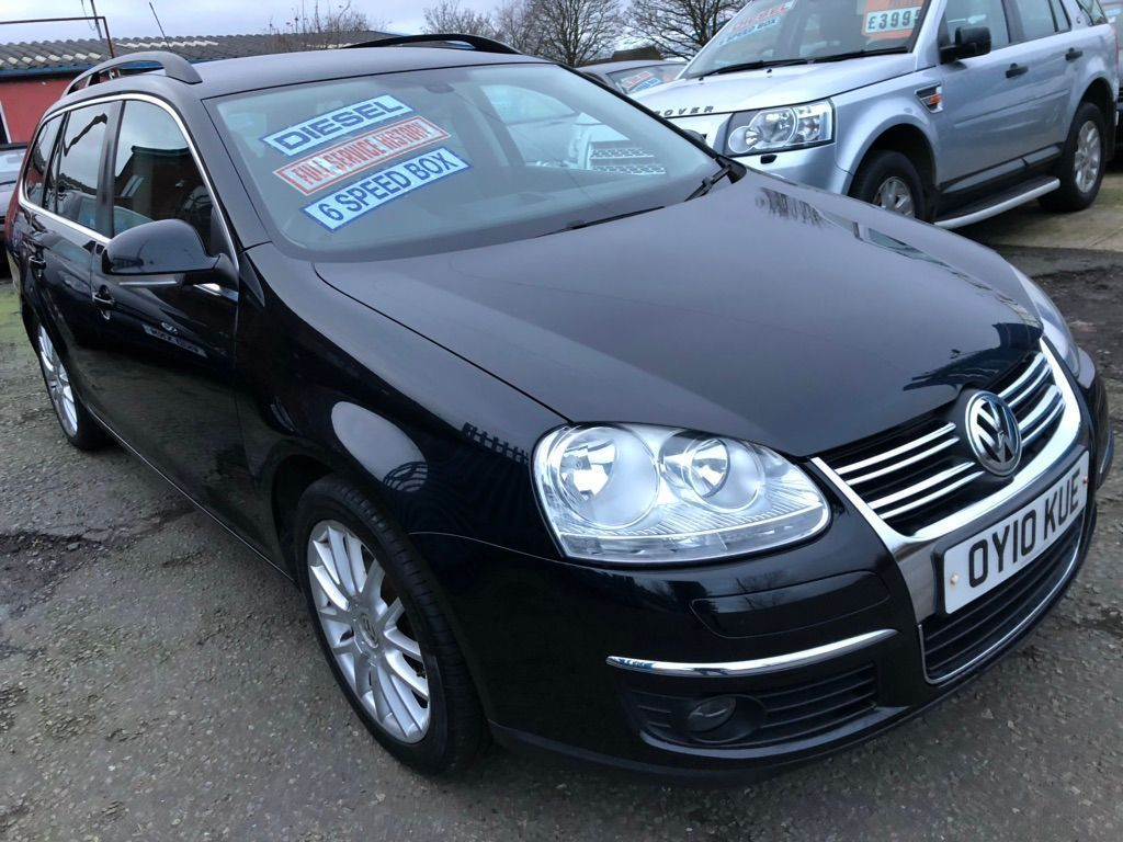 Volkswagen Golf Estate 2.0 TDI CR Sportline 5dr