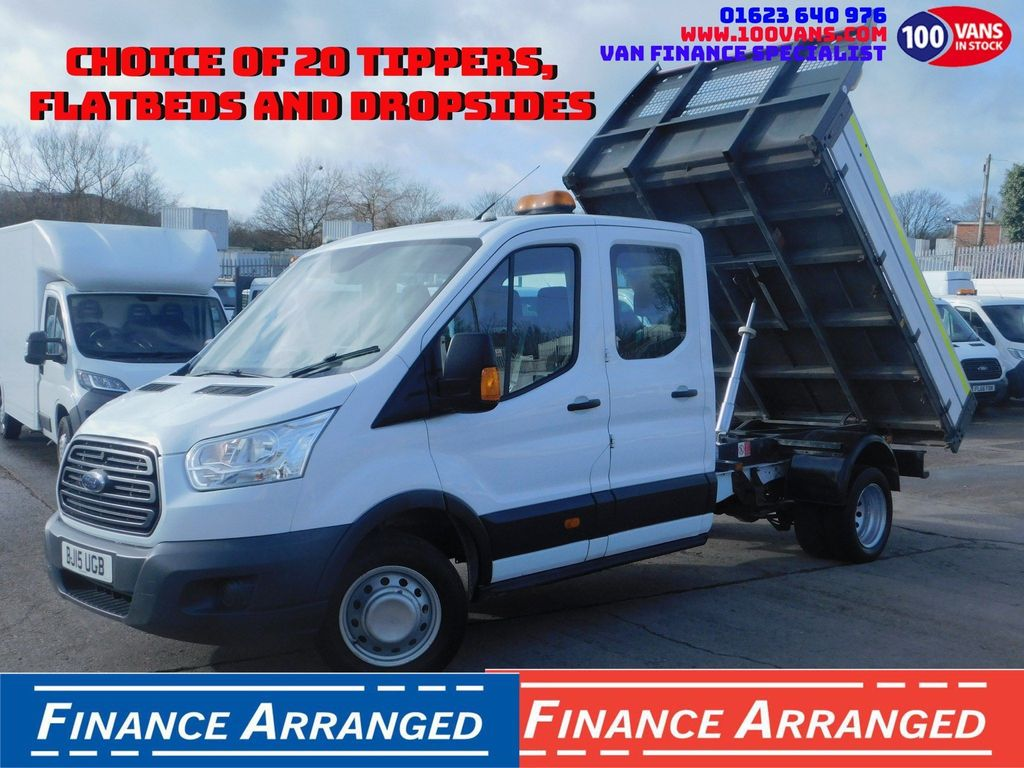 Ford Transit Tipper 2.2TDCI T350 L3 DOUBLE CAB TIPPER VALUE