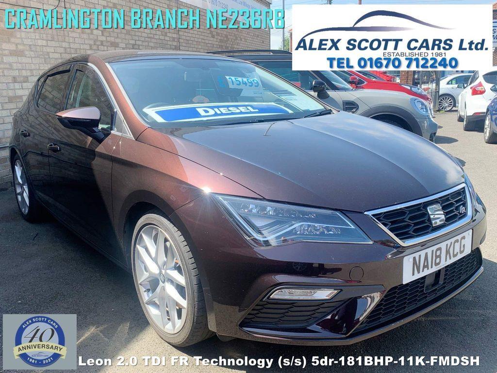 SEAT Leon Hatchback 2.0 TDI FR Technology (s/s) 5dr