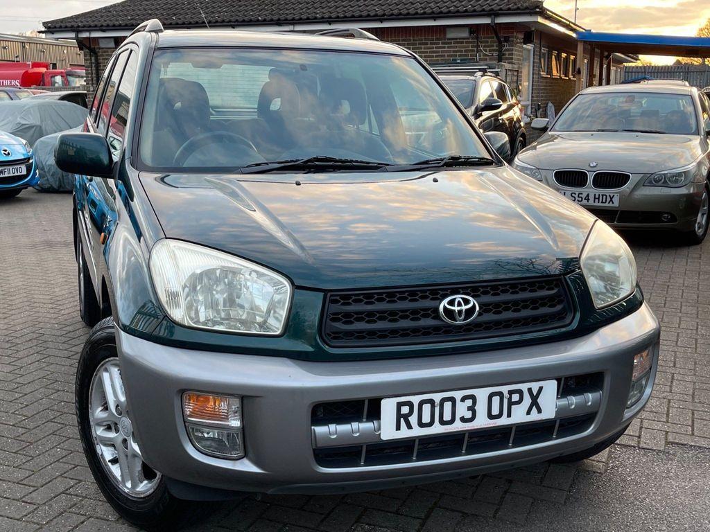 Toyota RAV4 SUV 2.0 VVT-i GX 4WD 5dr