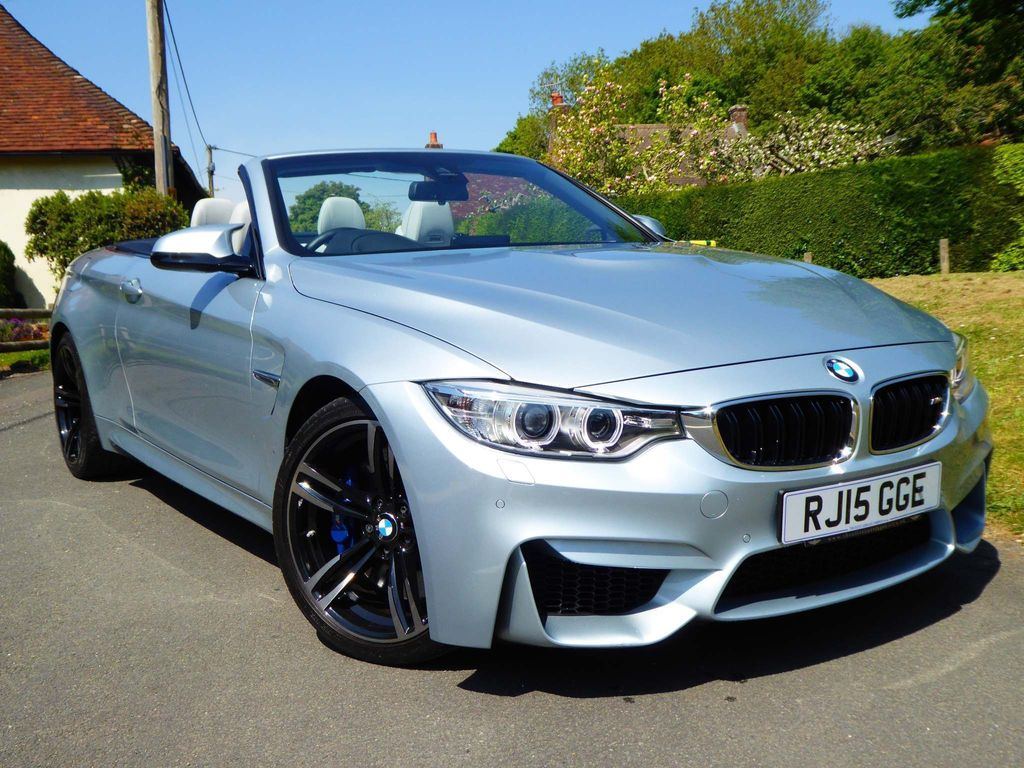 BMW M4 Convertible 3.0 M DCT (s/s) 2dr