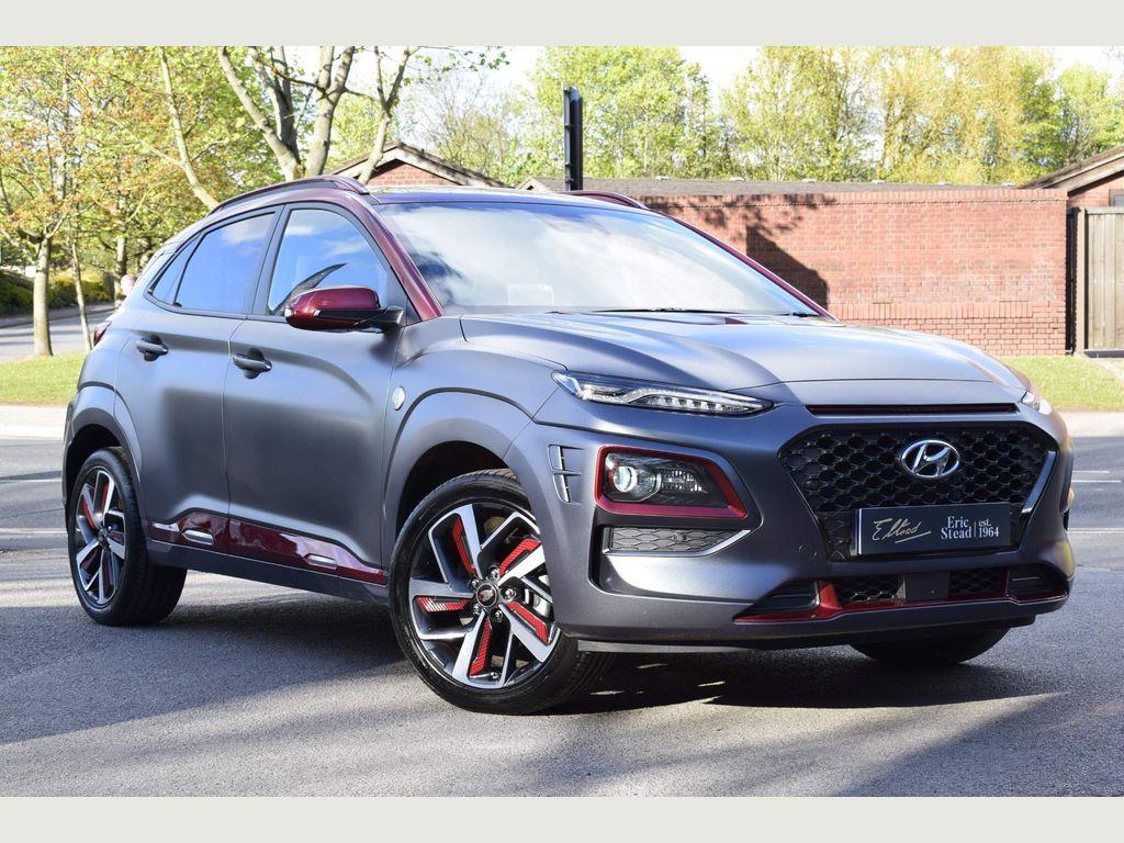 Hyundai Kona SUV 1.6 T-GDi Iron Man Edition DCT (s/s) 5dr