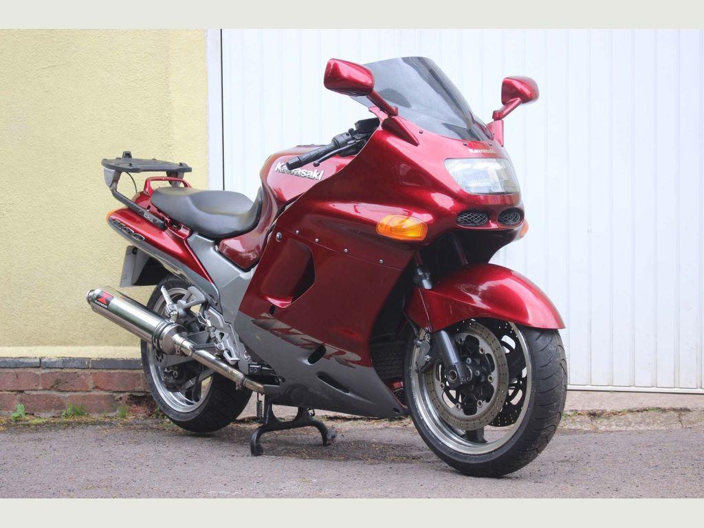 Kawasaki ZZR1100 Tourer 1100 D6