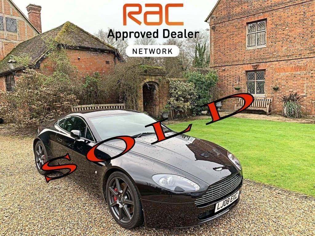Used Aston Martin Vantage Coupe 4 3 V8 Sportshift 2dr In Dorking Surrey James Carrington Ltd