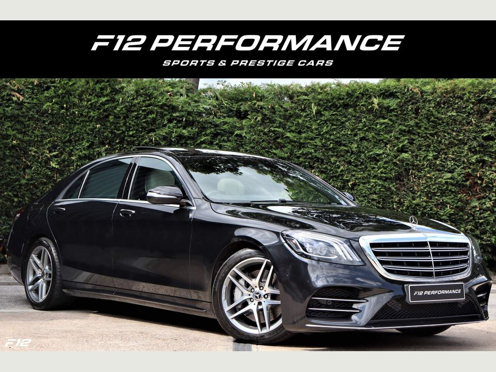Mercedes-Benz S Class Saloon 3.0 S450L EQ Boost AMG Line (Executive) G-Tronic+ (s/s) 4dr