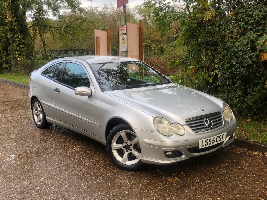 Mercedes-Benz C Class Coupe 1.8 C160 Kompressor SE 2dr