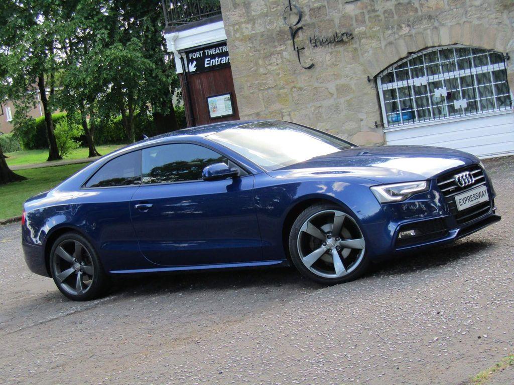 Audi A5 Coupe 2.0 TDI Black Edition S Tronic quattro 2dr