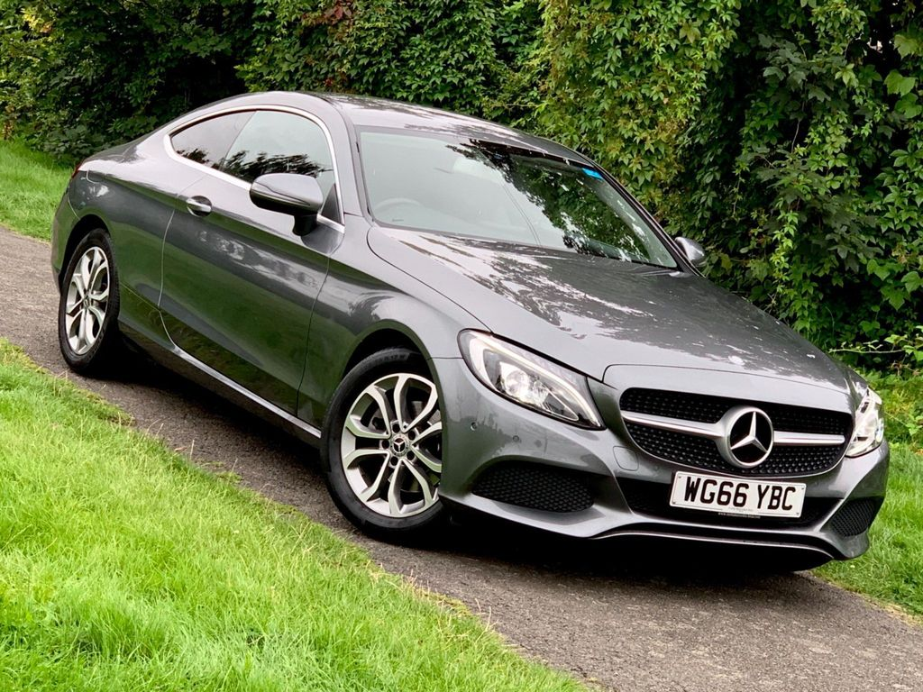 Mercedes-Benz C Class Coupe 2.0 C200 Sport G-Tronic+ (s/s) 2dr